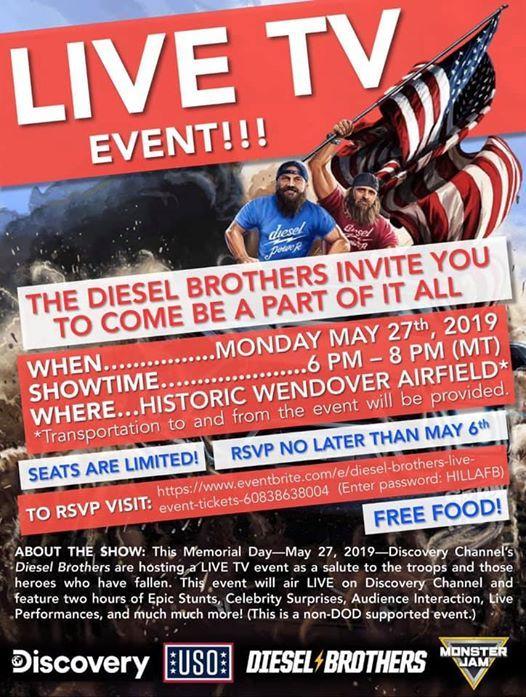 diesel brothers memorial day
