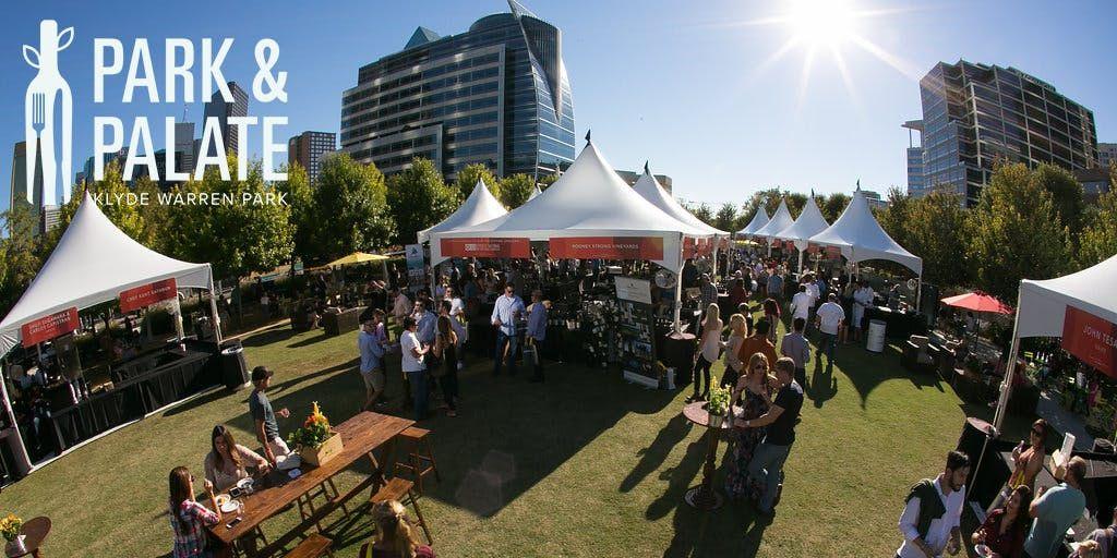Park Amp Palate Grand Taste 2018 At Klyde Warren Park Dallas