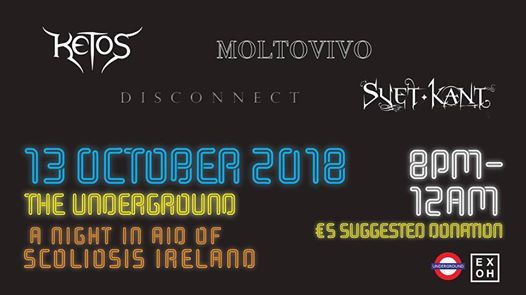 Ex Oh Promotions Presents - A Night in aid of Scoliosis Ireland