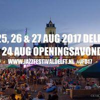 Jazz Festival Delft 24-27 AUG 2017