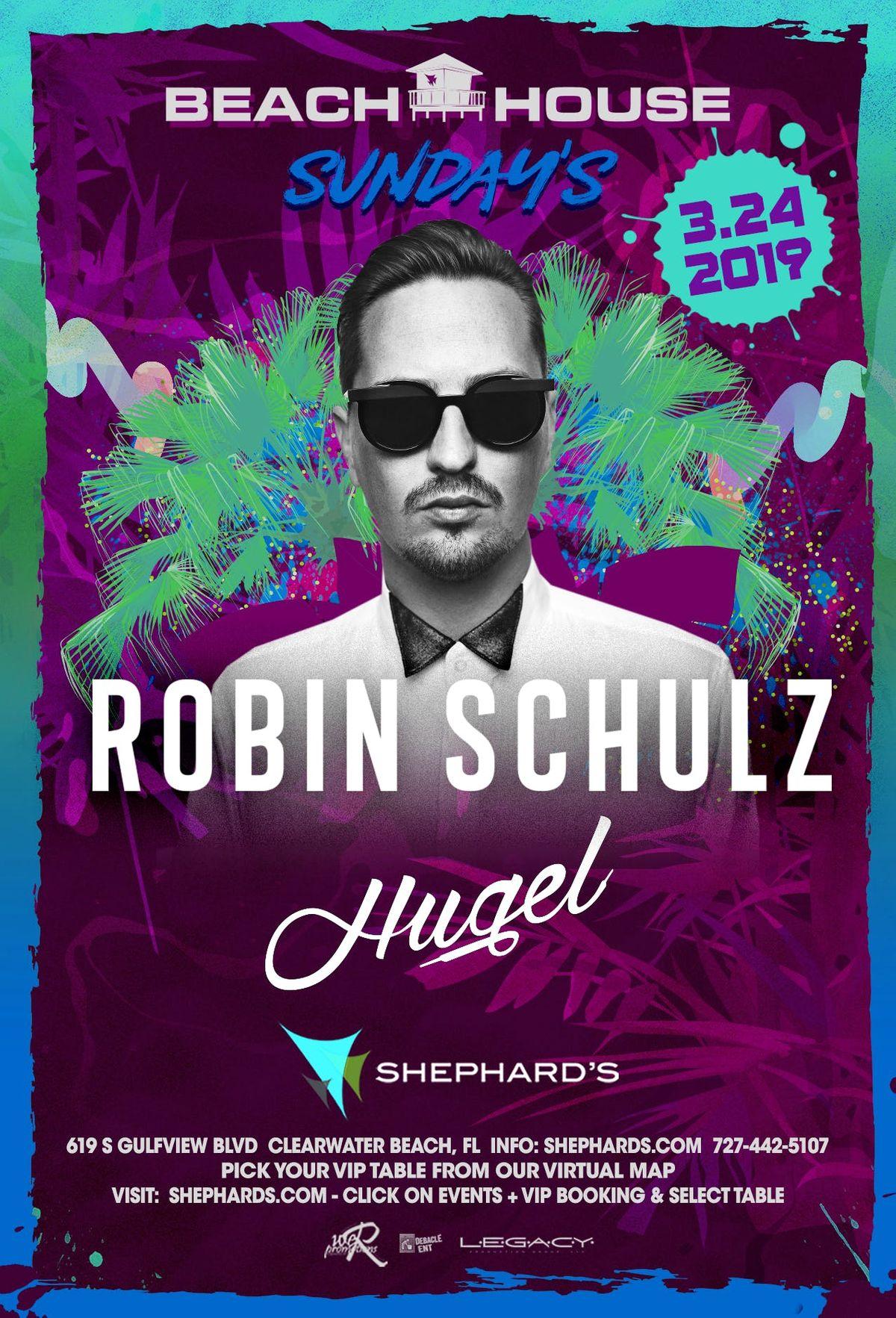 Robin Shulz with Hugel Beach House Sundays
