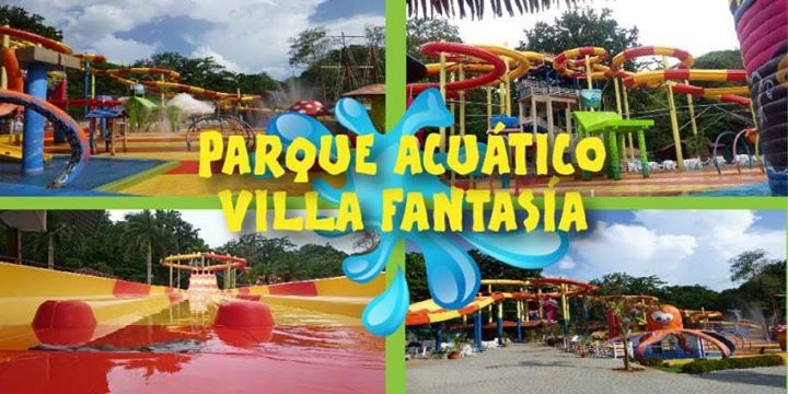 Parque acu tico villas fantas a 7000 colones solo for Villas fantasia orotina