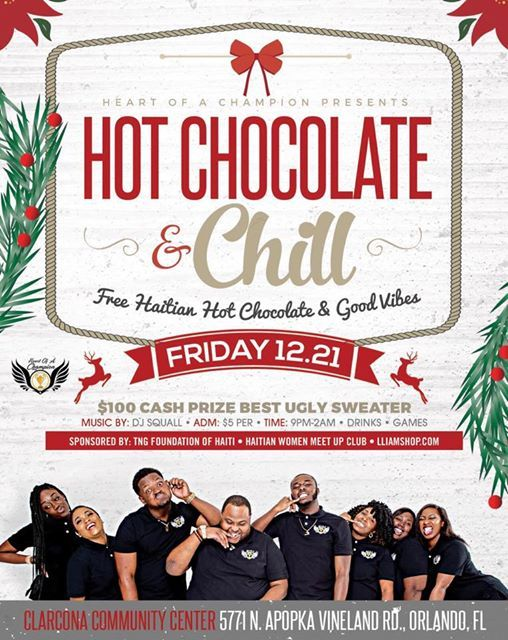 HOT CHOCOLATE AND CHILL 2018 at 5771 N Apopka Vineland Rd
