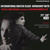 INTERNATIONAL MASTER CLASS DANCE WORKSHOP WITH TALITHA MASLEEN (AUSTRALIA)