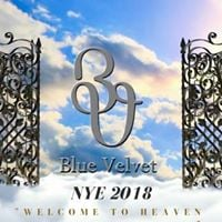 NYE 2018  Capodanno 2018 at Blue Velvet