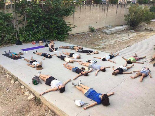 Hatha Yoga classes with Fanny Khoury