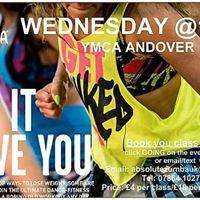 Zumba YMCA Andover Wednesday  21.03.2018