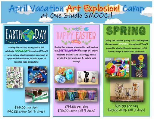 April Vacation Art Explosion Camp