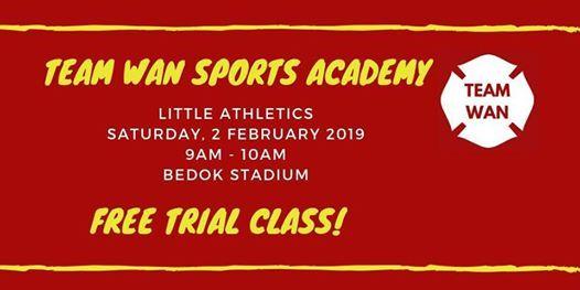 Free Trial - Little Athletics by Team Wan Sports Academy
