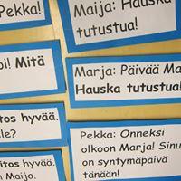 Suvisuomea - Finnish language course