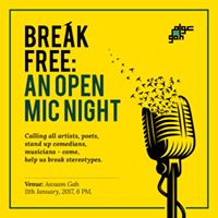 Break Free An Open Mic Night