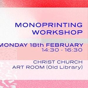 CCAW Monoprinting workshop