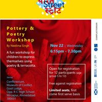 Pottery &amp Poetry Workshop