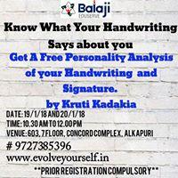 Free Handwriting And Signature Analysis