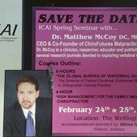 2018 ICAI - Spring Seminar w Dr. Matthew McCoy