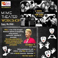 Mime Theater Workshop for Kids - Koregaon Park