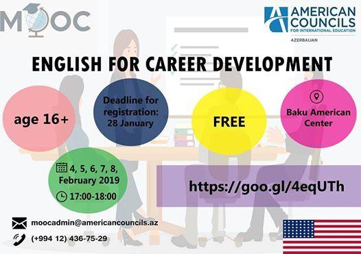 English for Career Development MOOC