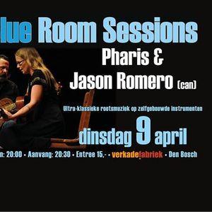 Pharis & Jason Romero Blue Room Sessions den Bosch NL