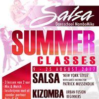 Summer Classes MamboMike 9 - 25 August