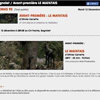Avant premire Cinma 93 - Le Mafatais dOlivier Carrette