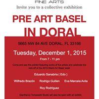 Pre Art Basel Kick-off Exhibit in Doral
