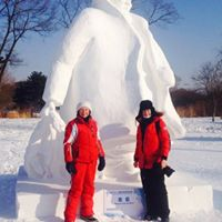 Ice Carving in April with Tatyana Schremko
