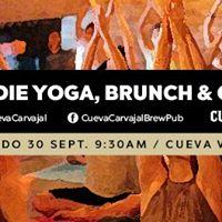 Hindie Yoga Brunch &amp Cerveza - CUEVA VALLE