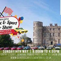Classic &amp Sport Car Show - Lulworth Castle