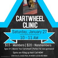 Crown Point Cartwheel Clinic