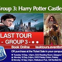 Group 3 Harry Potter Castle Day Trip