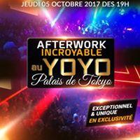 Afterwork Au Yoyo Palais De Tokyo Exceptionnel Et Exclusif