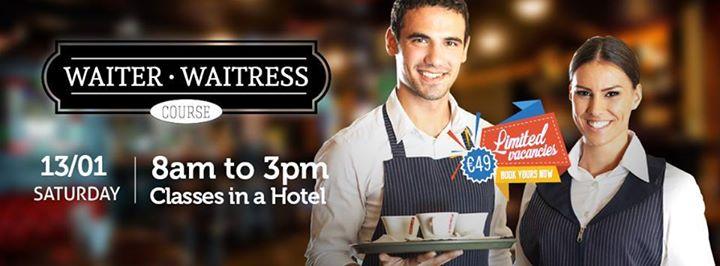 Curso de Waiter em Dublin - Irlanda