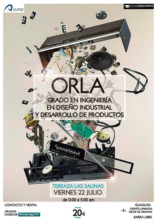 Orla Diseño Industrial At Las Salinas Terraza Las Palmas De