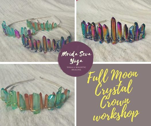Crystal Goddess Crown workshop