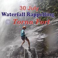 Torna Waterfalls Rappelling.