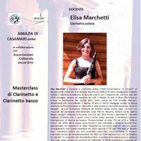 Elisa Marchetti - Master class clarinetto e clarinetto basso