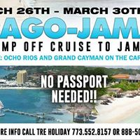 Tre Holiday Presents Chicago-Jamaica Cruise Jump Off