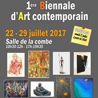 1re Biennale dArt contemporain du 22 au 29 juillet 2017