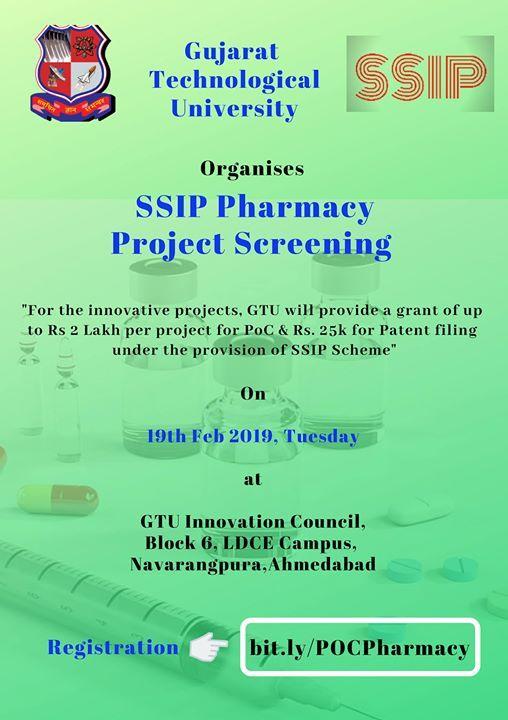 SSIP Phrmcy Project Screening