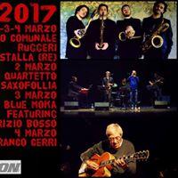 Saxofollia at Guastalla jazz festival 2017
