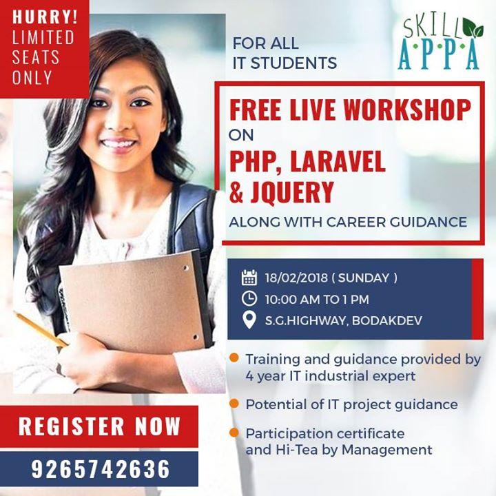 Live Workshop on Advance PHP