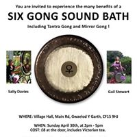 Six Gong Sound Bath incl the Tantra Gong and the Mirror Gong