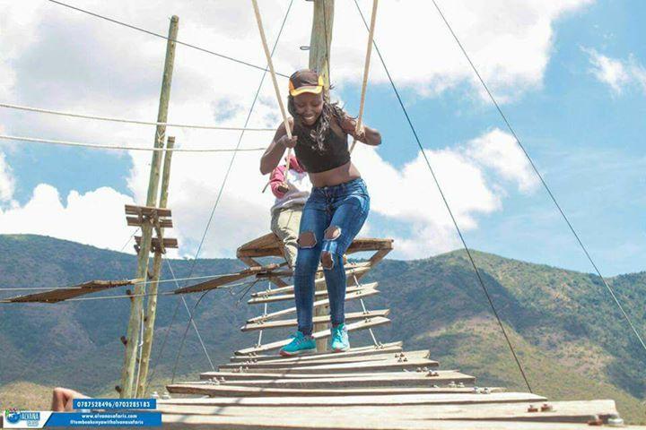 Kisames Giraffe Camp High Ropes Challenge & Zip Lining