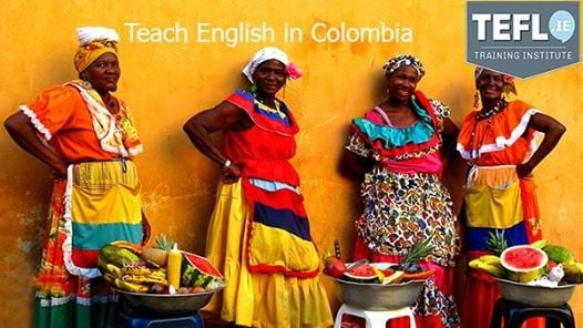 Teach English in Colombia Feb 2018