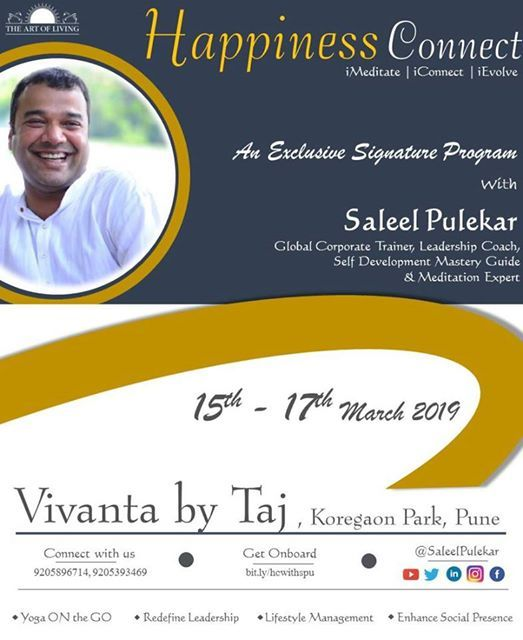Happiness Connect at Taj Vivanta