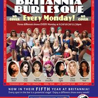 Britannia Burlesque-Nov 27th