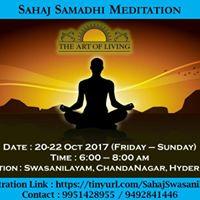 Sahaj Samadhi Meditation At SwasaNilayam Chandanagar Hyderabad