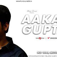 Punchliners Standup Comedy Show ft. Aakash Gupta in Chandigarh
