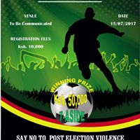 Mombasa Inter-County Peace Futsal 2017