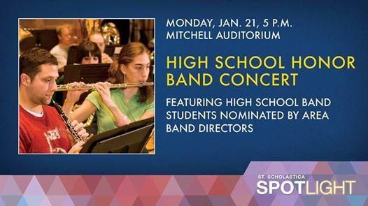 High School Honor Band Concert